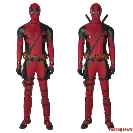 Deadpool 1 Cosplay Costume Deluxe Fullset