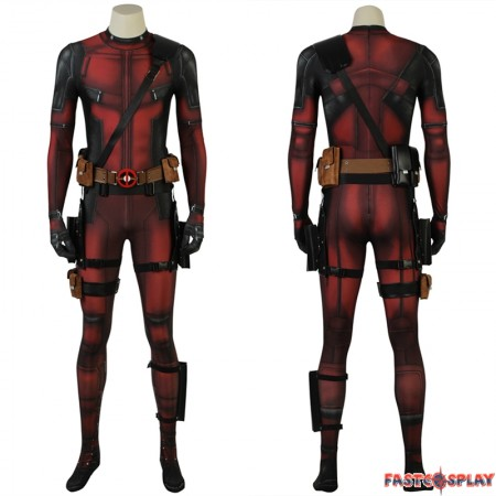Deadpool 2 Wade Wilson Cosplay Costume