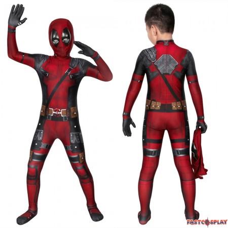 Deadpool Kids 3D Jumpsuit
