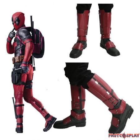 Deadpool Wade Winston Wilson Cosplay Boots