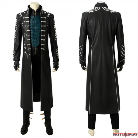 Devil May Cry 5 Vergil Cosplay Costume Deluxe Version