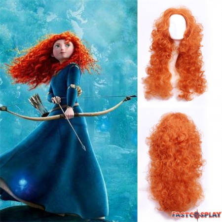 Disney Brave Princess Merida Cosplay Wigs