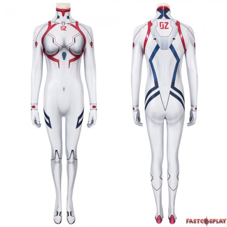 EVA Asuka Langley Soryu 3D Jumpsuit