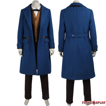 Fantastic Beasts and Where to Find Them Newt Scamander Cosplay Costume Full Set