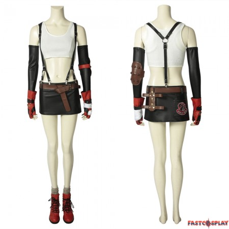 Final Fantasy VII FF7 Tifa Lockhar Cosplay Costume