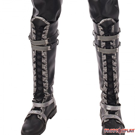 Final Fantasy XV Kingsglaive Nyx Ulric Shoes Cosplay Boots