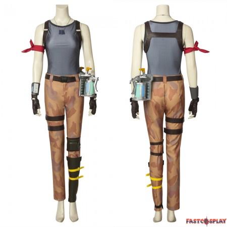Fortnite Battle Royale Ramirez Cosplay Costume