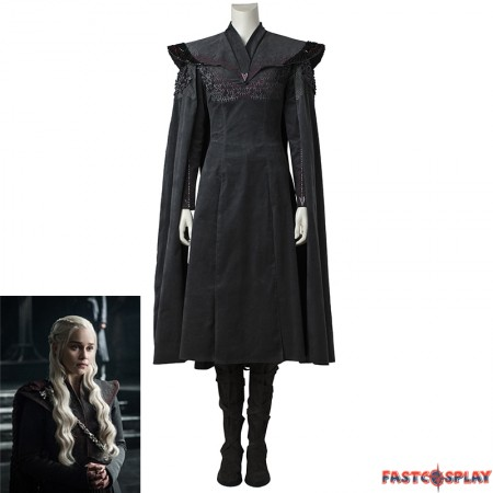 Game of Thrones 7 Daenerys Targaryen Cosplay Costume Deluxe