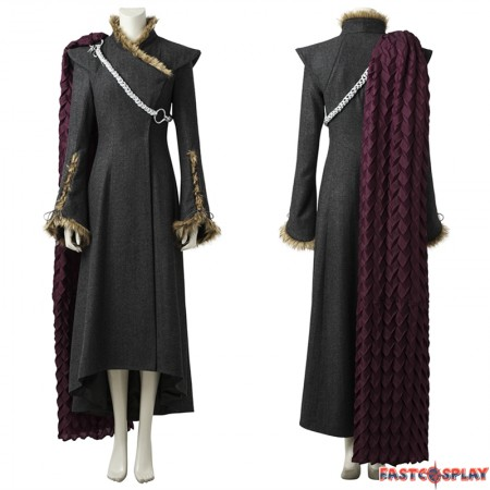 Game Of Thrones 7 Daenerys Targaryen Cosplay Costume