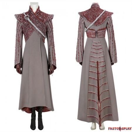 Game of Thrones 8 Daenerys Targaryen Cosplay Costume