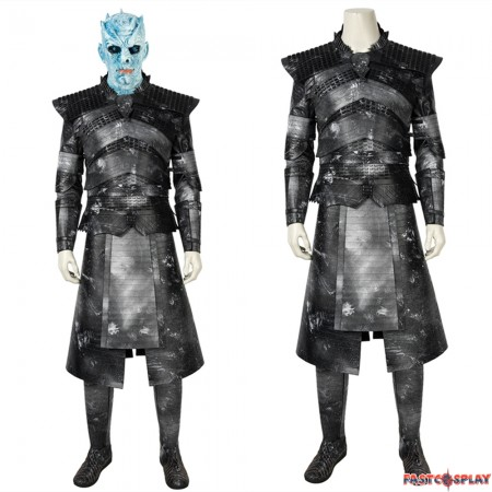 Game of Thrones 8 Night King Cosplay Costume Deluxe