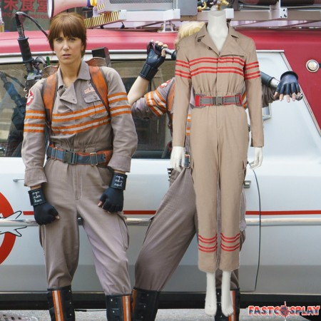 Ghostbusters III Cosplay Costume Erin Gilbert Jillian Holtzmann Uniform