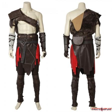 God Of War 4 Kratos Cosplay Costume