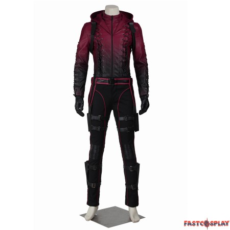 Arrow Season 3 Red Arrow Roy Harper Cosplay Costume
