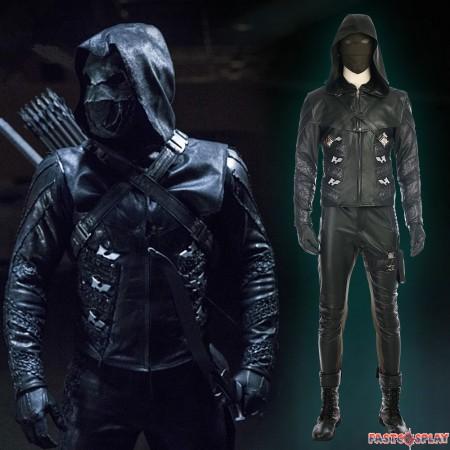 Green Arrow Season 5 Prometheus Costume Quentin Lance Cosplay Costume