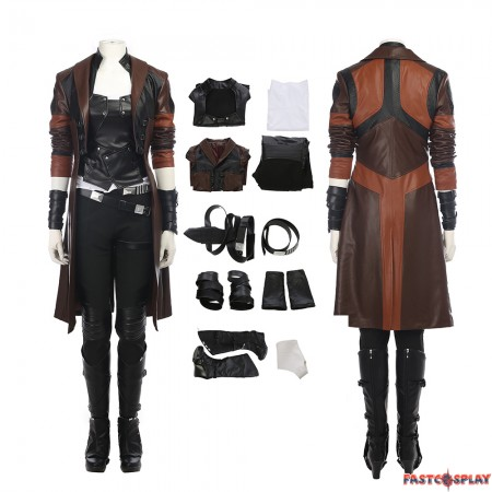 Guardians of The Galaxy 2 Gamora Cosplay Costume Full Set