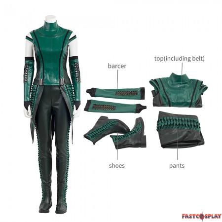 Guardians Of The Galaxy 2 Mantis Lorelei Cosplay Costume Full Set