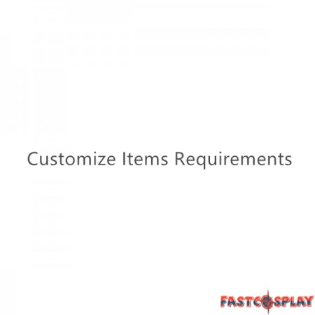 Customize Items Requirements
