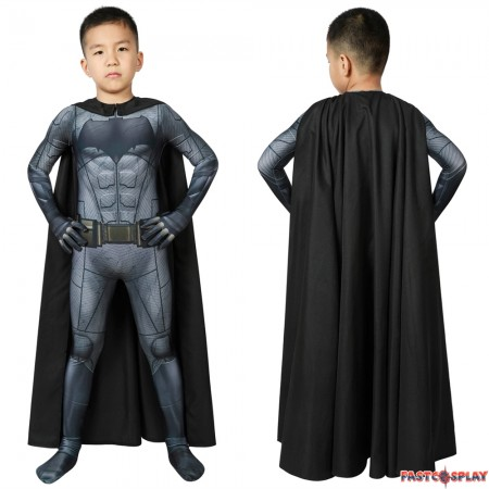 Justice League Batman Bruce Wayne Kids 3D Jumpsuit