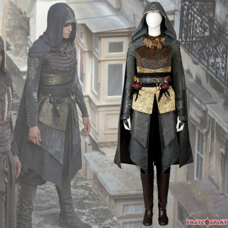 Movie Assassin's Creed Sofia Sartor Cosplay Costume Deluxe Outfit