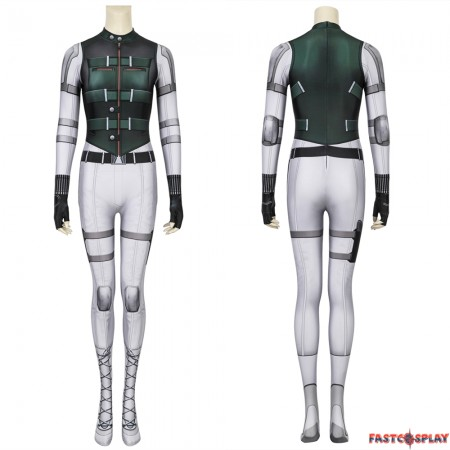 Movie Black Widow Yelena Belova 3D Cosplay Jumpsuit