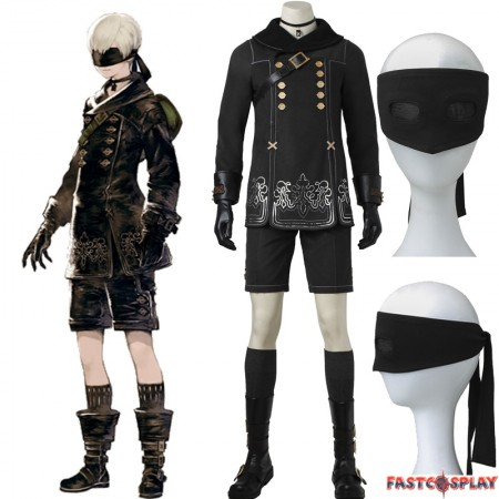 NieR: Automata 9S Costume YoRHa No.9 S Cosplay Costume - Deluxe Version