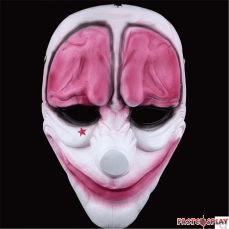 PAYDAY 2 Hoxton Cosplay Mask
