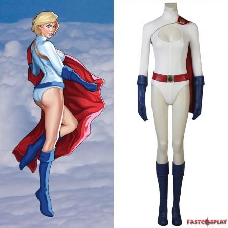 Power Girl Costume Kara Zor-L Cosplay Costume