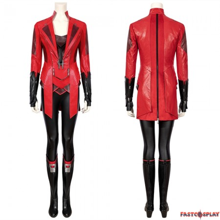 Scarlet Witch Wanda Maximoff Cosplay Costume