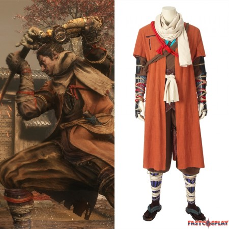 SEKIRO: Shadows Die Twice Wolf Cosplay Costume