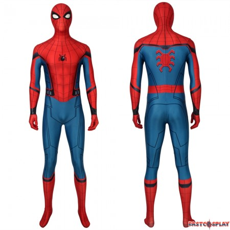 Spider-Man Far From Home Peter Parker 3D Cosplay Zentai Jumpsuit