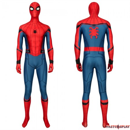 Spider-Man Far From Home Peter Parker 3D Zentai Jumpsuit Fullset