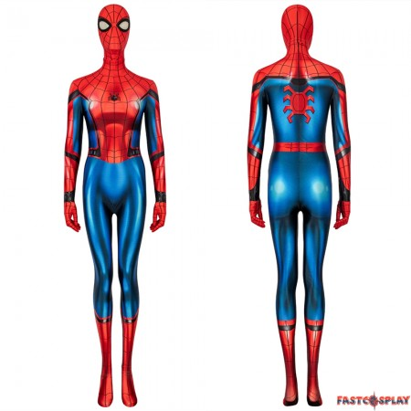 Spider-Man Far From Home Peter Parker Female 3D Jumpsuit
