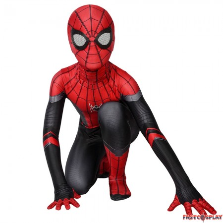Spider-Man Far From Home Spider-Man Kids 3D Zentai Jumpsuit