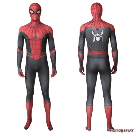 Spider-Man: Far From Home Spiderman 3D Zentai Jumpsuit
