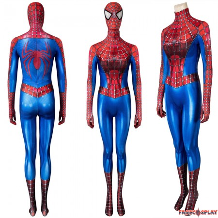 Spider-Man Peter Parker Tobey Maguire 3D Female Jumpsuit