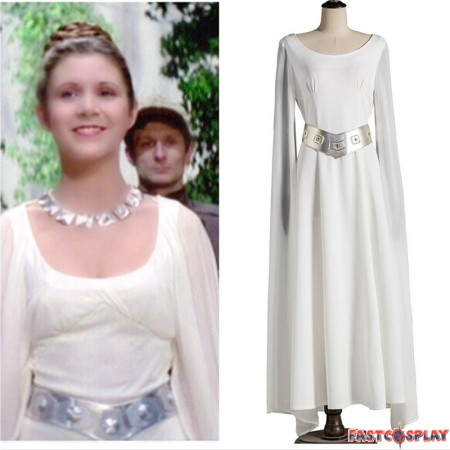 Star Wars A New Hope Princess Leia Dress Cosplay Costumes