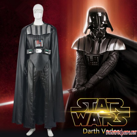 Star Wars Darth Vader Black Rompers Cosplay Costume Deluxe