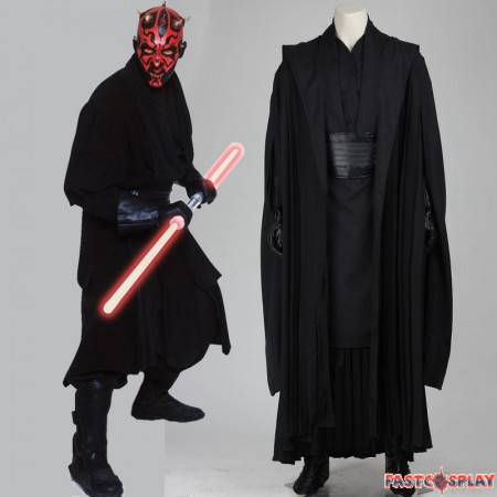 Star Wars I The Phantom Menace Darth Maul Cosplay Costume