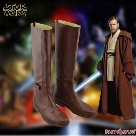 Star Wars Jedi Obi-Wan Kenobi Cosplay Boots