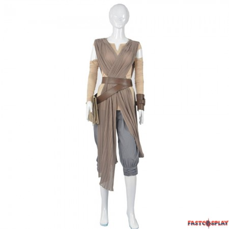 Star Wars The Force Awakens Rey Cosplay Deluxe Costume