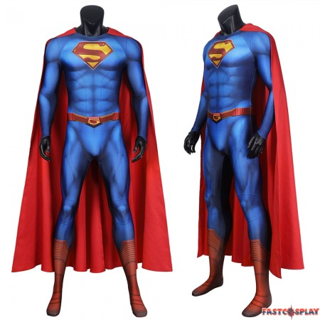 Superman and Lois Superman 3D Cosplay Jumpsuit