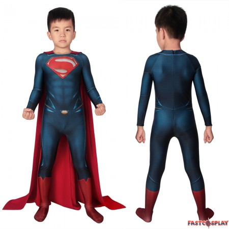 Superman: Man of Steel Superman Kids 3D Jumpsuit