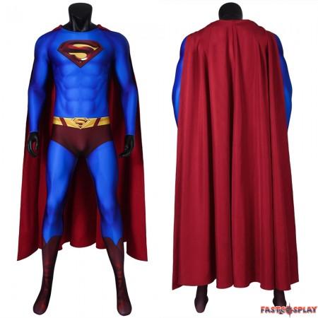 Superman Returns Superman Clark Kent 3D Jumpsuit