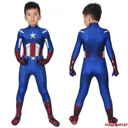 The Avengers Captain America Kids 3D Jumpsuit