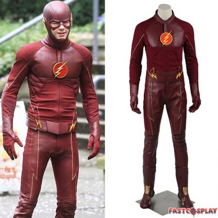The Flash Season 1 Barry Allen Cosplay Costume