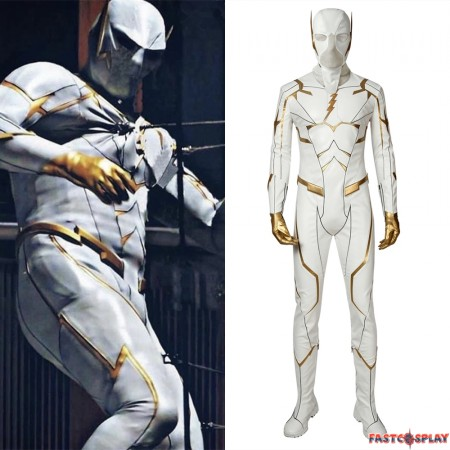 The Flash Season 5 Godspeed August Heart Cosplay Costume