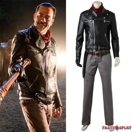The Walking Dead Negan Cosplay Costume