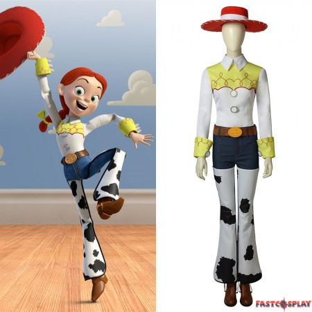 Toy Story Jessie Cosplay Costume Full Set