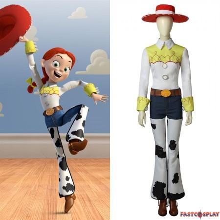 Toy Story Jessie Cosplay Costume Full Set